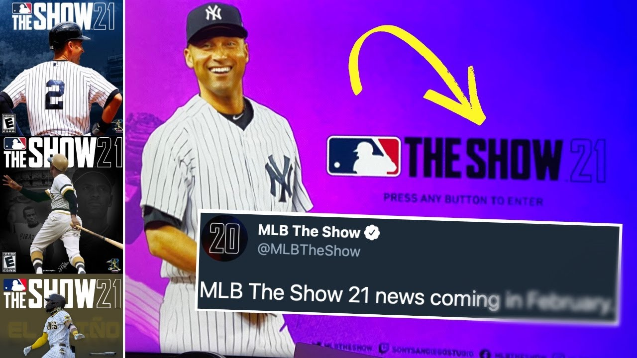 MLB THE SHOW 21 IS COMING VERY SOON.. *FINALLY*