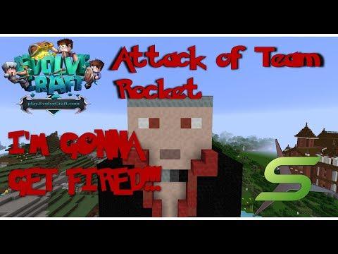 Minecraft Pixelmon on Evolvecraft #10 - I'M GONNA GET FIRED!!!