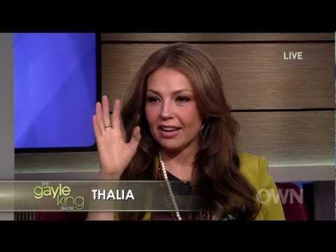 Thalia  Entrevista  ''The Gayle King '' 01112011