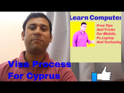 How To Get Cyprus Visa,Study,Citizenship,Work,Urdu/Hindi 2018 By Me,All Visa Requirement
