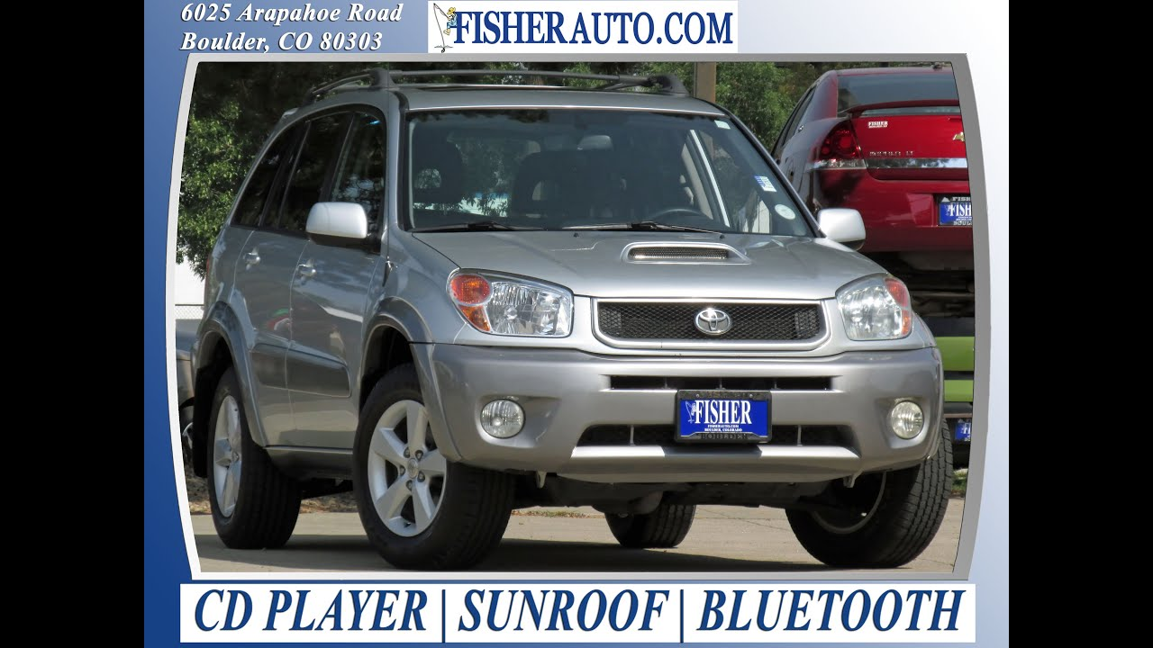 used cars 2005 toyota rav4 se boulder longmont denver fisher