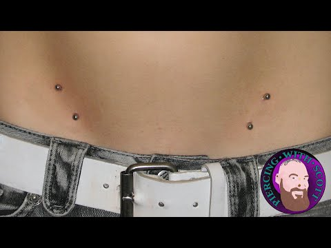 Hip Piercing : All information about - Risks & Painful  & Healing Piercing