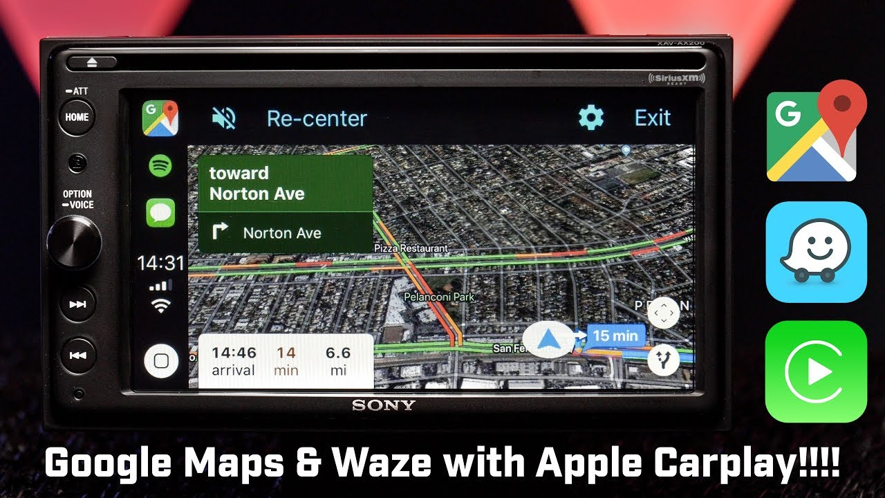 Google Maps and Waze FINALLY on Apple Carplay!!!