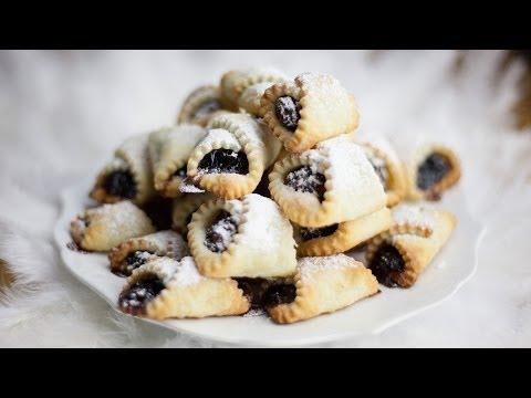 Polish Christmas Cookies - Kolaczki Swiateczne -  Recipe #124