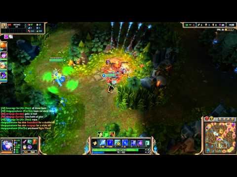 League of Legends Let's Play [1080p HD] - Ash Game #1 - Ep. 22