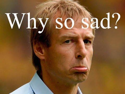 Save Us, Jurgen Klinsmann, You're Our Only Hope