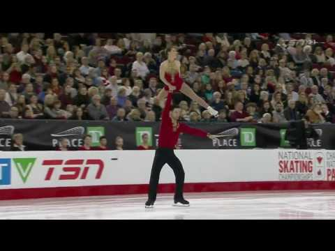 Sydney Kolodziej / Maxime Deschamps 2017 Canadian National Figure Skating Championships - SP