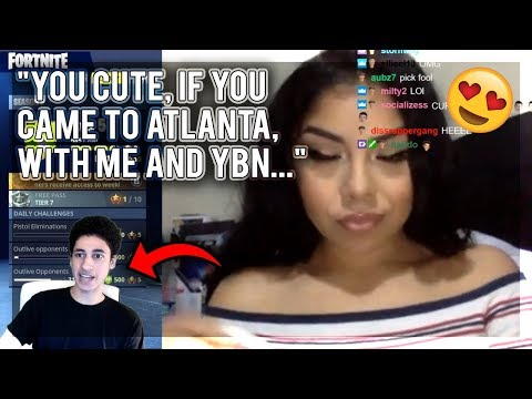 Diss God FALLS IN LOVE with YBN Nahmir's Ex - Atlanta Rapper (Blaatina)