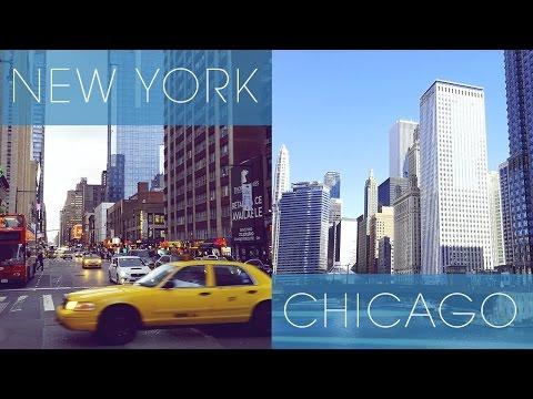 NEW YORK + CHICAGO Trip