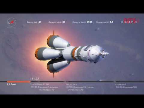 Nave Soyuz MS-01 estrena nueva tecnología espacial