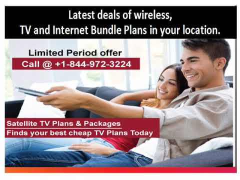 Satellite Tv Internet Phone Bundle Deals Usa Youtube