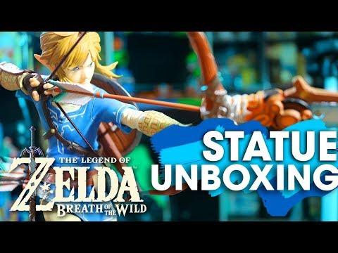 Legend of Zelda: Breath of the Wild STATUE UNBOXING!