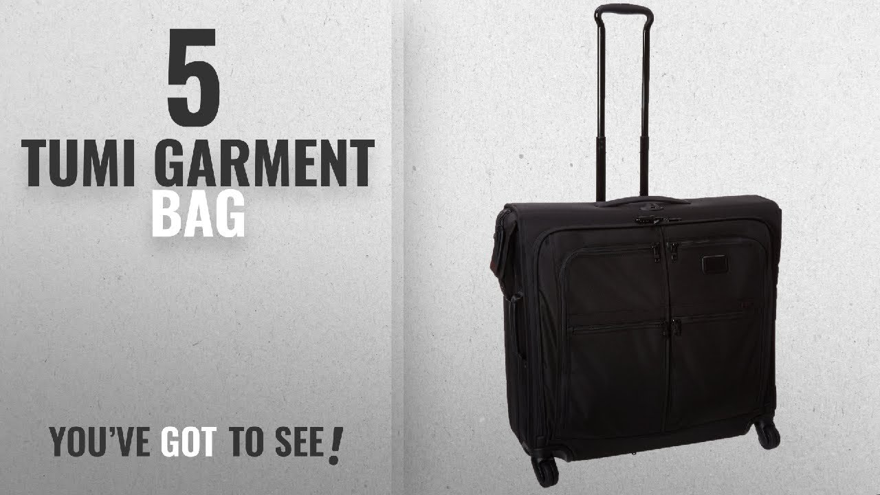Top 10 Tumi Garment Bag 2018 Alpha 2 4 Wheeled Extended Trip Hanger Tumialpha Tumiluggage Tumihanger