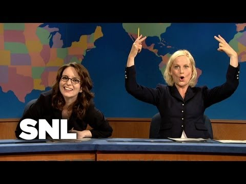Tina Fey on Update - Saturday Night Live