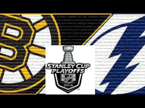 2018 NHL Playoffs Semi Finals: Tampa Bay Lightning @ Boston Bruins Game 4 Post Game