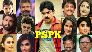 Tollywood Powerstar Pawan Kalyan's Craze Among Celebrities Some Sta...