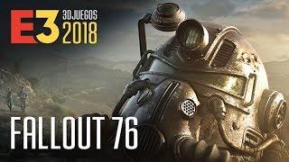 FALLOUT 76 es Rol, supervivencia ¡y MULTIJUGADOR!