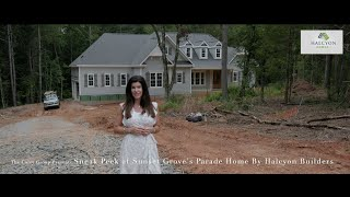 Sneak Peek at Sunset Grove's Parade Home by Halcyon Builders