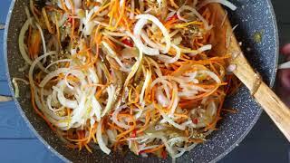 Вкусный салат на зиму из баклажан ☆ ХЕ ИЗ БАКЛАЖАНОВ ☆ Баклажаны по-корейски