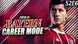 Tough match vs arsenal! lewandowski back to scoring!! - fifa 18 bayern career mode s2e6