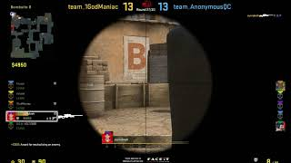 1v3 on faceit