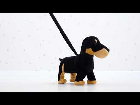 """Интерактивная игрушка """"Собака"""", поёт и гуляет, IF54S от Na-Na"""