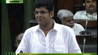 (JJP OFFICIAL) Dushyant Chautala Maiden Speech in Loksabha