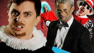 Repeat youtube video Dr Seuss VS Shakespeare.  Epic Rap Battles of History #12