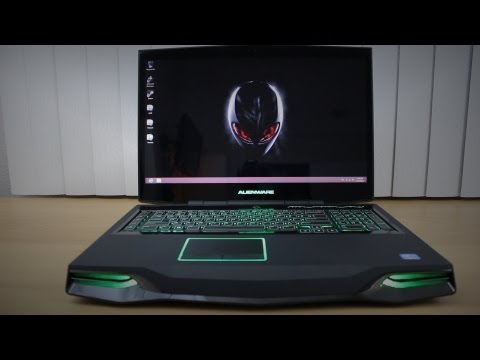 """Alienware M18x R2 18"""" Gaming Labtop Unboxing/Overview"""