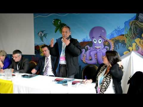 Justice For Colombia address ICTU Conference