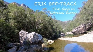 A five day hike through Ettrema Gorge, NSW, Australia