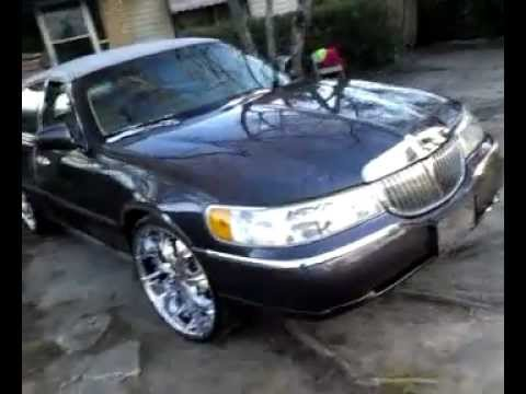 Lincoln Towncar On 24s By Mrbodean2010