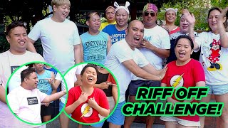 RIFF OFF CHALLENGE (MAY NAHULOG PA NGA) | CHAD KINIS VLOGS