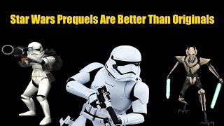 The Star Wars Prequel Trilogy Were Better Than The Original Trilogy, Yet Get So Much Hate