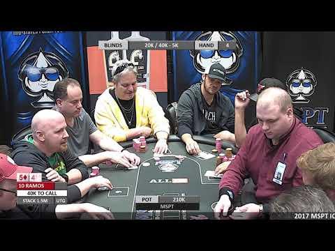 "Event #106 Meskwaki ""Iowa State Poker Championship"""
