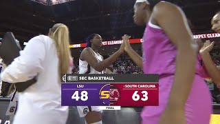HIGHLIGHTS: Women's Basketball vs. LSU — 2/20/20