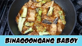 Let's eat Binagoongan!!! This is a Filipino dish that every family ...