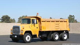 1992 Ford L8000 16 Yard Tandem Dump Truck