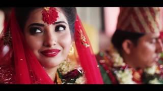 Saugat weds Anjeela