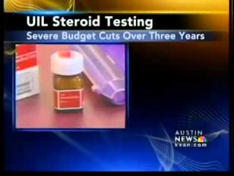 UIL steroid testing
