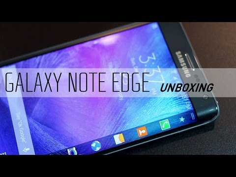 Samsung Galaxy Note Edge Unboxing & Hands On Review
