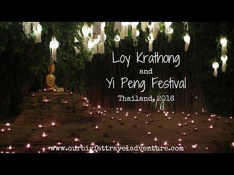 Loy Krathong & Yi Peng Festivals In Chiang Mai | Living In Thailand | Week 13