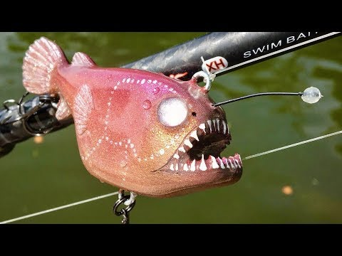 Making An Anglerfish Fishing Lure