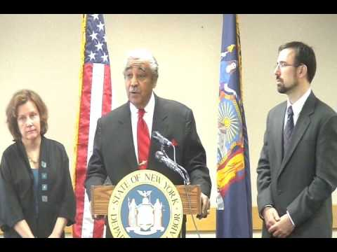 Rangel Touts Unemployment Benefits in American Recovery and Investment Act