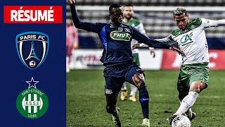 VIDEO: Paris FC-AS Saint-Etienne (2-3), le résumé, 16es de finale I Coupe de France 2019-2020