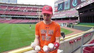Catching a baseball at 1,500 consecutive MLB games! Video