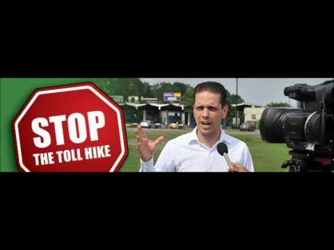 Angelo Santabarbara Anti Toll Hike Radio Ad