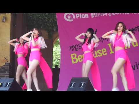 Female President (여자대통령)-걸스데이(Girl's Day) Live @ Plan Korea