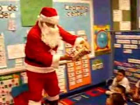 Santa giving gifts youtube santa giving gifts negle Images