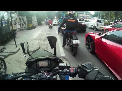 Ferrari and Lamborghini Spotted | Bangalore | MG Road